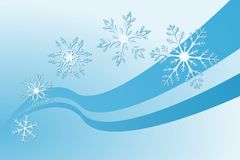 Snowflake. Vector illustration of snowflake decoration Stock Image