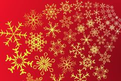 Snowflake. Vector illustration of snowflake decoration Royalty Free Stock Photos