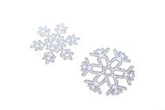 Snowflake. Decoration isolated on white Royalty Free Stock Photos
