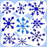 snowflake Immagini Stock