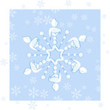 snowflake fotos de stock