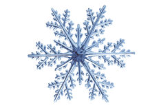 Snowflake. Isolated snowflake on white background Royalty Free Stock Image