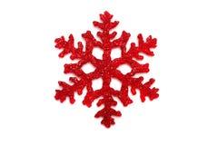 Snowflake. Christmas decoration on white background Stock Image
