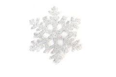 Snowflake. Christmas decoration on white background Stock Images