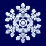 Snowflake. A computer generated image of fantasy snowflake stock photos