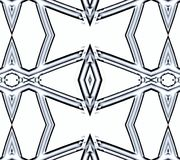 Snowflake. Abstract illustration. White background. Graphic wallpaper for Web design Stock Photography