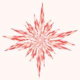 Snowflake Abstract Pink Stock Photos