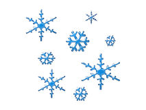 Snowflake art Stock Photo