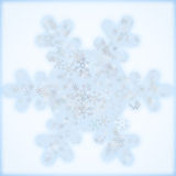 Snowflake background Stock Photography