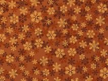 Snowflake Background. (Quick & Easy Editing. Snowflakes Are Grouped On Colours Stock Images