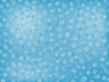 Snowflake Background. Winter Background With Different Snowflakes Royalty Free Stock Image