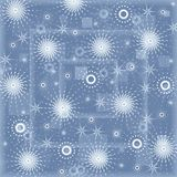Snowflake background Royalty Free Stock Photos