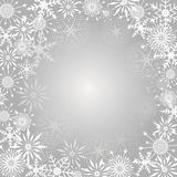 Snowflake Background. Royalty Free Stock Images