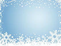 Snowflake background stock illustration