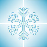 Snowflake background Stock Images