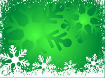 Snowflake background Royalty Free Stock Photos