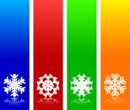 Snowflake background. Royalty Free Stock Image