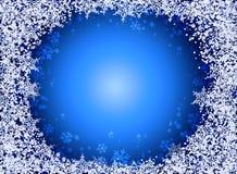 Snowflake background Stock Photo