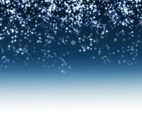 Snowflake Background Stock Image