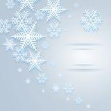 Snowflake background Royalty Free Stock Image
