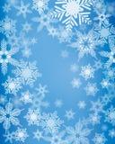 Snowflake Background Stock Photos