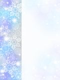 Snowflake background. Of pale color.blue Royalty Free Stock Photos
