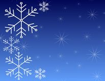 Snowflake Background Pattern 3 Royalty Free Stock Photo