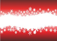 Snowflake background with place for text Royalty Free Stock Photo
