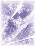 Snowflake background series Royalty Free Stock Photos