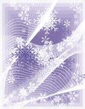 Snowflake background series Royalty Free Stock Photos