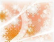 Snowflake background series Royalty Free Stock Image