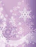 Snowflake background series Stock Photos