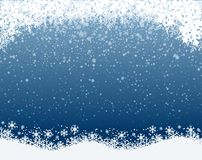 Snowflake background - stock vector. Blue snowflake background - stock vector stock images