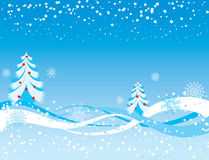 Snowflake background, vector Royalty Free Stock Image