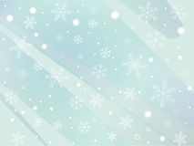 Snowflake background. Vector File EPS10 Stock Photography