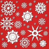 Snowflake Backround Stock Photography