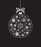 Snowflake ball ball Royalty Free Stock Photos