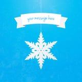 Snowflake Banner Stock Photos