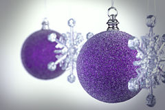 Snowflake Bauble Stock Images