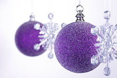 Snowflake Bauble Royalty Free Stock Image