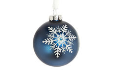 Snowflake bauble Royalty Free Stock Photography