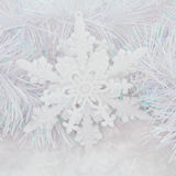 Snowflake Bauble Stock Photography