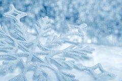 Snowflake big closeup Royalty Free Stock Photo