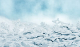 Snowflake big closeup Royalty Free Stock Images