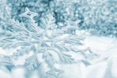 Snowflake big closeup Stock Images