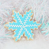 Snowflake Biscuit Stock Photos
