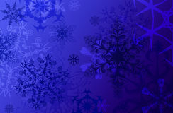 Snowflake blackground Stock Photo