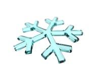 Snowflake blue Stock Photography