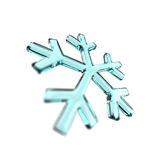Snowflake blue Royalty Free Stock Photo