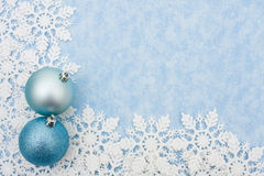 Snowflake Border Royalty Free Stock Images